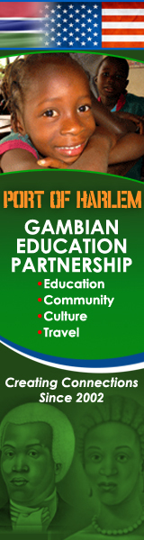 port of harlem gambian education partnership