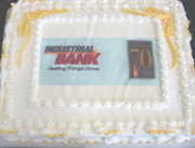 Industrial Bank Cake