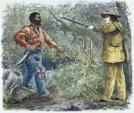 Image result for nat turner leads slave rebellion