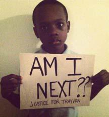 am i next - trayvon martin