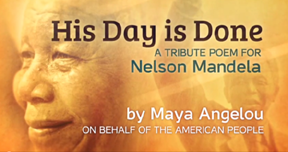 maya angelou tribute to mandela