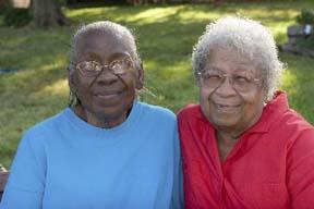 black senior females