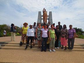 seniors visit Africa