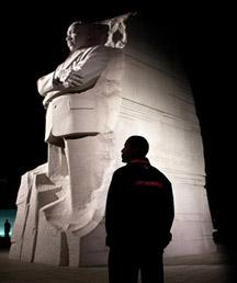 obama at mlk memorial