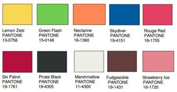 pantone essentricities