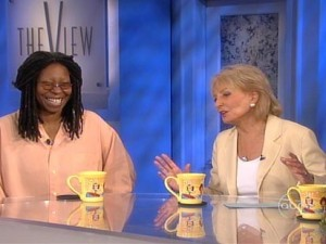 barbara walters and whoopi goldberg