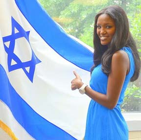 miss isreal who is Black