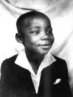 dr king as a youngster