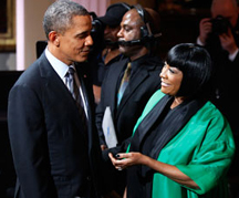patti labelle and president obama