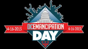 dc emancipation day logo