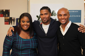 michael walton,  raven goodwin, and kenny lattimore